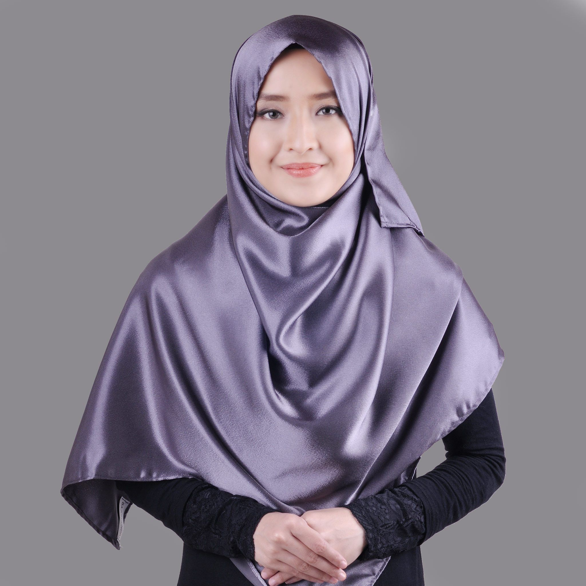 Satin Hijab Aliexpress Com Buy Muslim Women Hijabs Plain Silky Satin