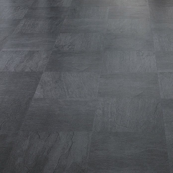 logoclic ceramico laminat schiefer anthrazit mm x 327 mm x 8 mm bauhaus boden. Black Bedroom Furniture Sets. Home Design Ideas