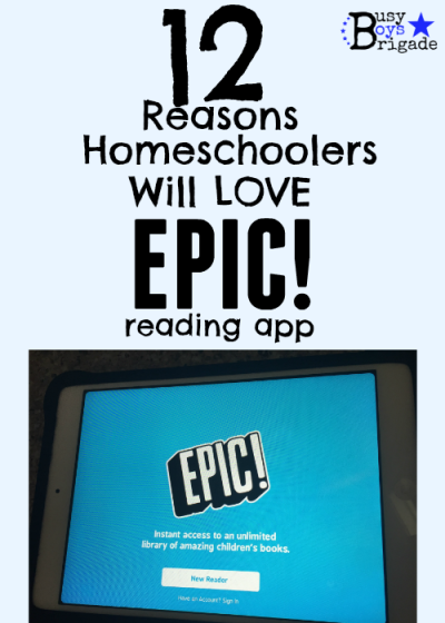 12 Reasons Homeschoolers Will Love Epic! Reading