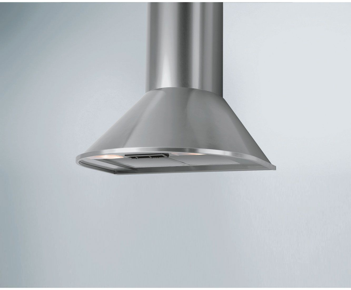 Candy CCR616/1X 60 Cm Chimney Cooker Hood   Stainless Steel