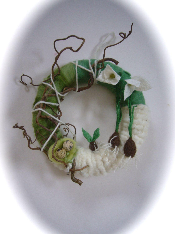 Spring snowdrop Wreath.