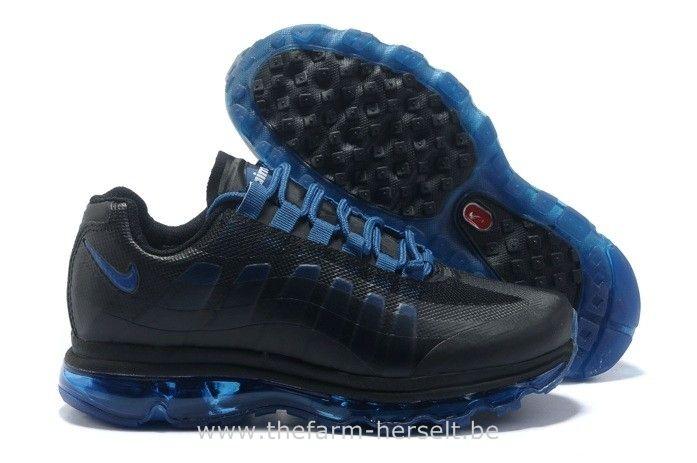 Nike Air Max 95 360 2013 Noir Bleu Homme