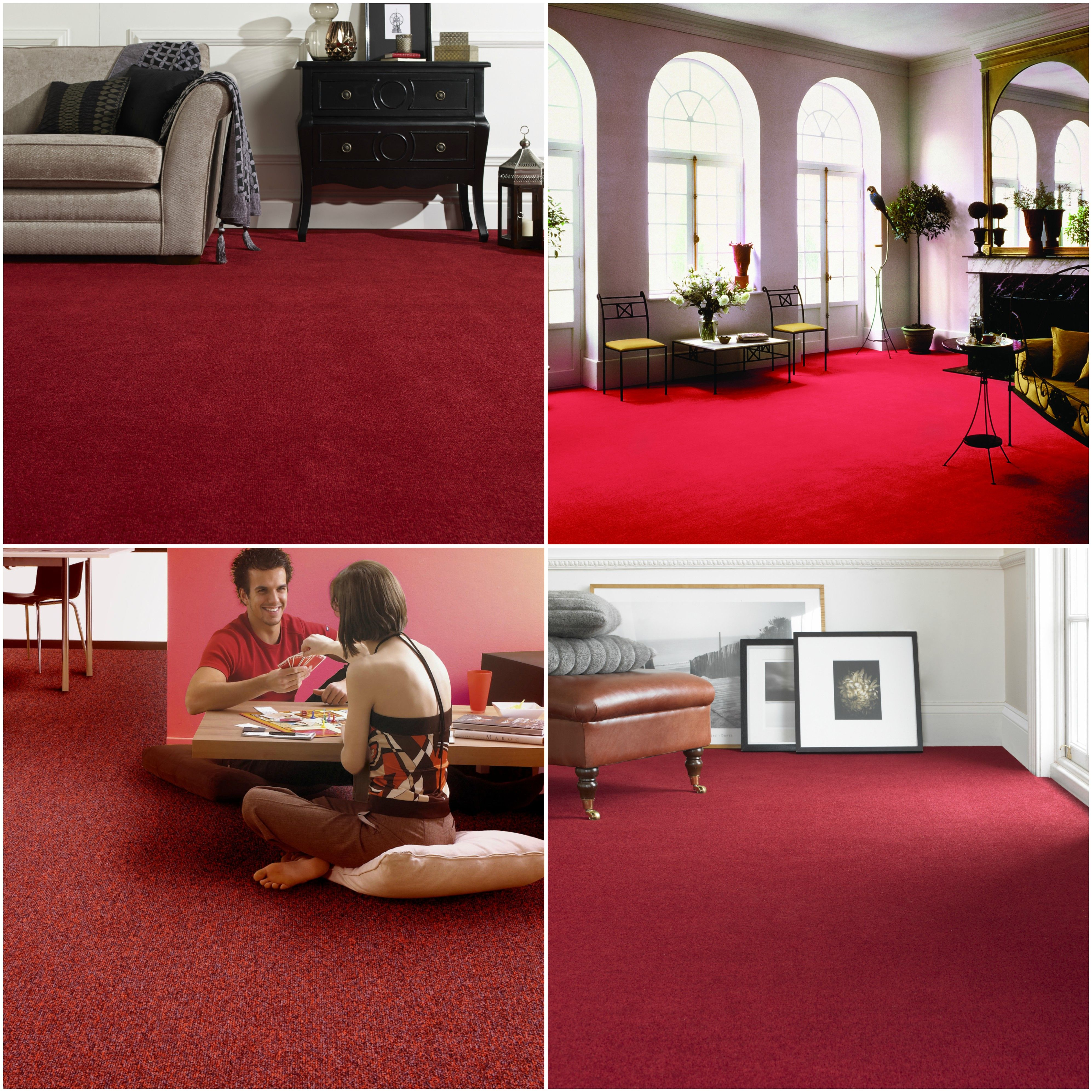 Bring A Little Romance Into Your Home With A Deep Rich Red Or Bold Burgundy Carpet Burgundy Living Room Red Curtains Living Room Contemporary Rugs Living Room