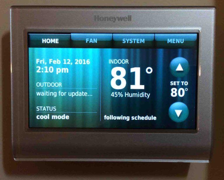 Honeywell thermostat restart instructions toms tek stop