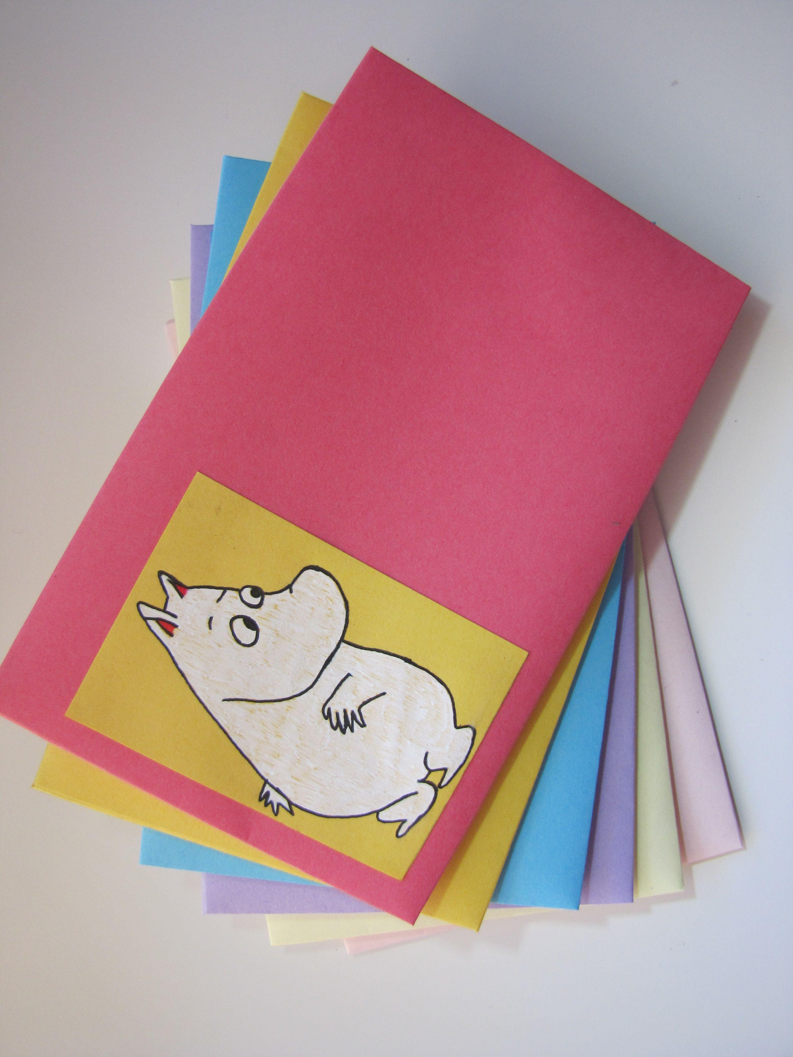 Muumi envelopes