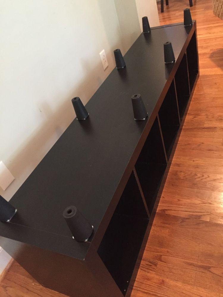 Ikea Bookshelf to Storage Bench in 10 Min.