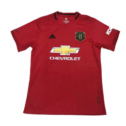 19 20 Manchester United Home Red Jerseys Shirt Manchester United Jersey Shirt Soccer Jersey Manchester United