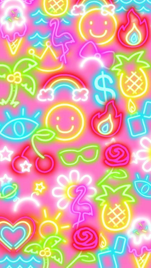 Blackberry Fun And Iphone Image Neon Wallpaper Cute Patterns Wallpaper Pretty Wallpaper Iphone