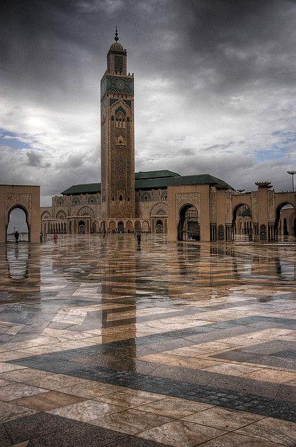 مسجد الحسن الثاني الدار البيضاء المغرب Casablanca Landmarks Street Art