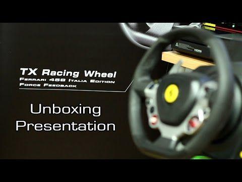 Thrustmaster Tx Racing Wheel Unboxing Presentation Eng