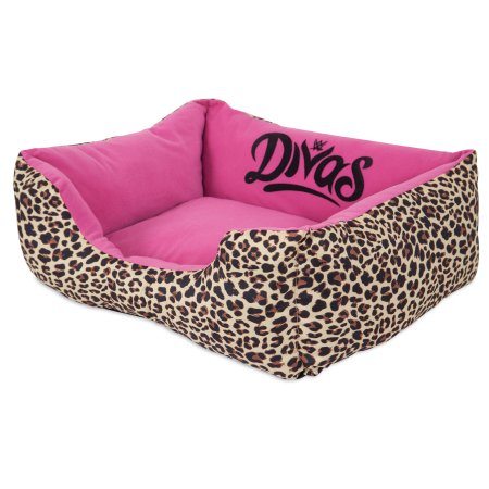 Wwwe Rectangular Pet Bed Lounger Divas 20x17 Products Dog Bed