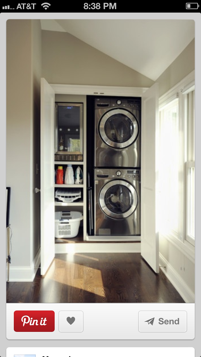 Easy Tuck Away Storage For 3rd Floor Master. Smaller Units Than The Ones In  The Laundry.