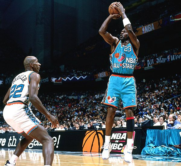 394be947bdc MJ: Flashback // The 1996 NBA All Star Game Shoes | Sole Collector ...