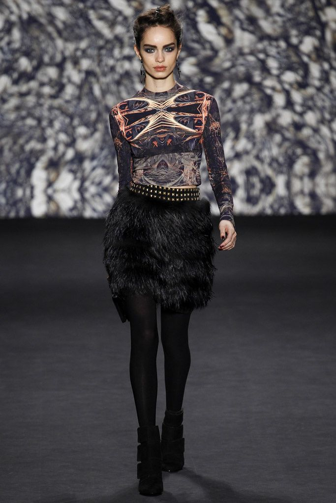 Nicole Miller Fall/Winter 2014-2015 #FW14 #NYFW