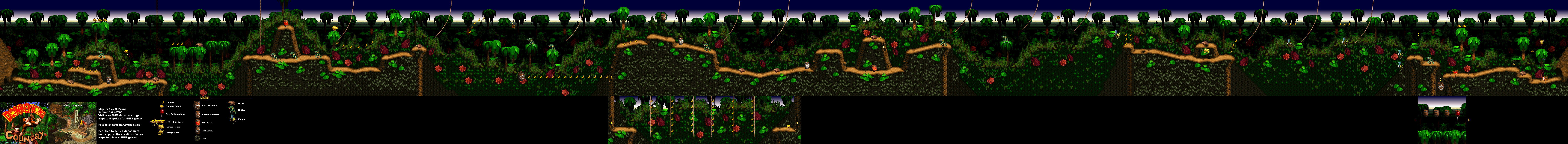 Donkey Kong Country - Level 2 - Ropey Rampage   GameDev: Level ... on