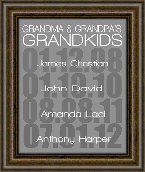 Gifts for Grandparents - Gift For Mom - Grandparent gift - Gifts for ...