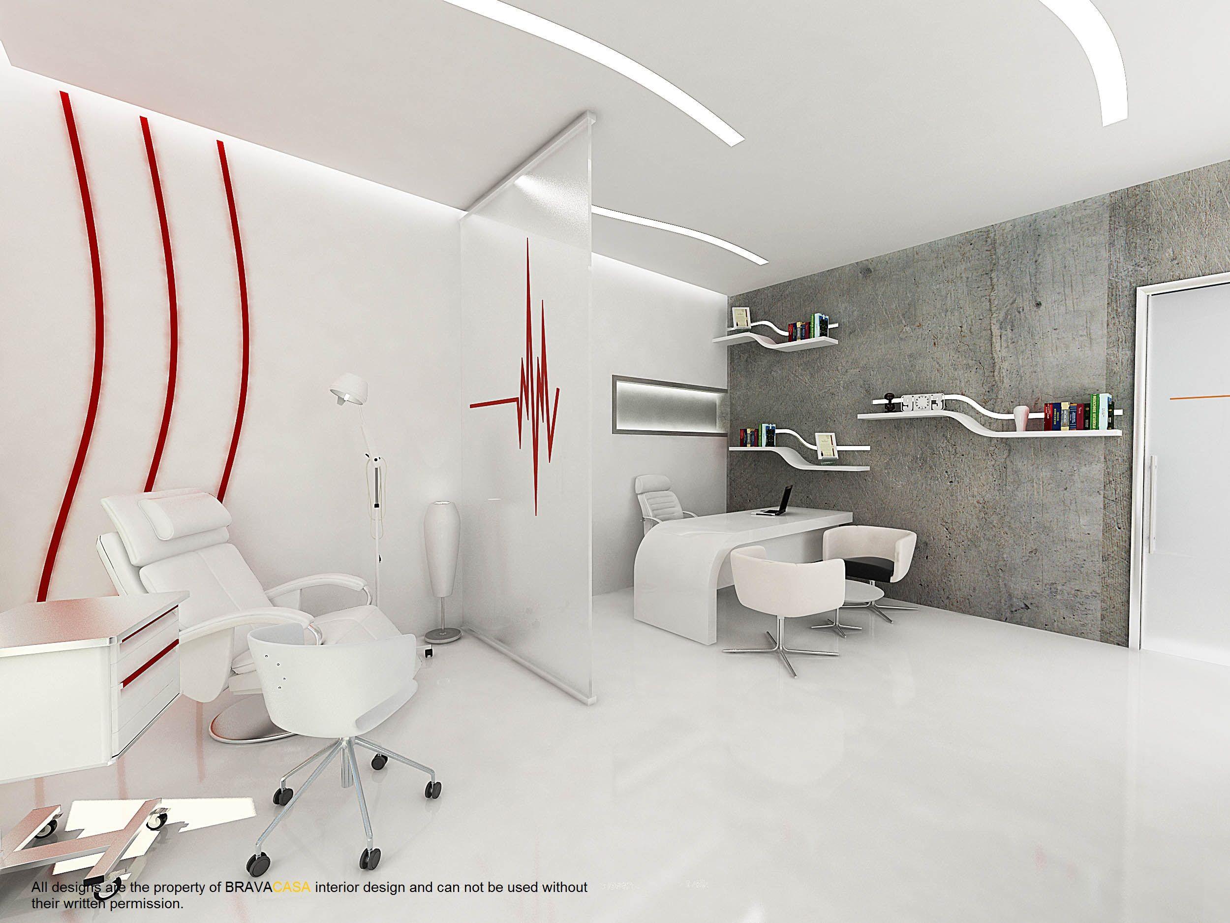 Aesthetic medical center bravacasa interior design pinterest medical center treatment for Dermatology clinic interior design