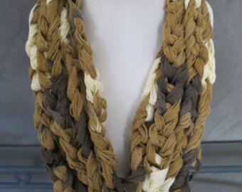 Collana uncinetto sciarpa di LKCreativeConcepts su Etsy