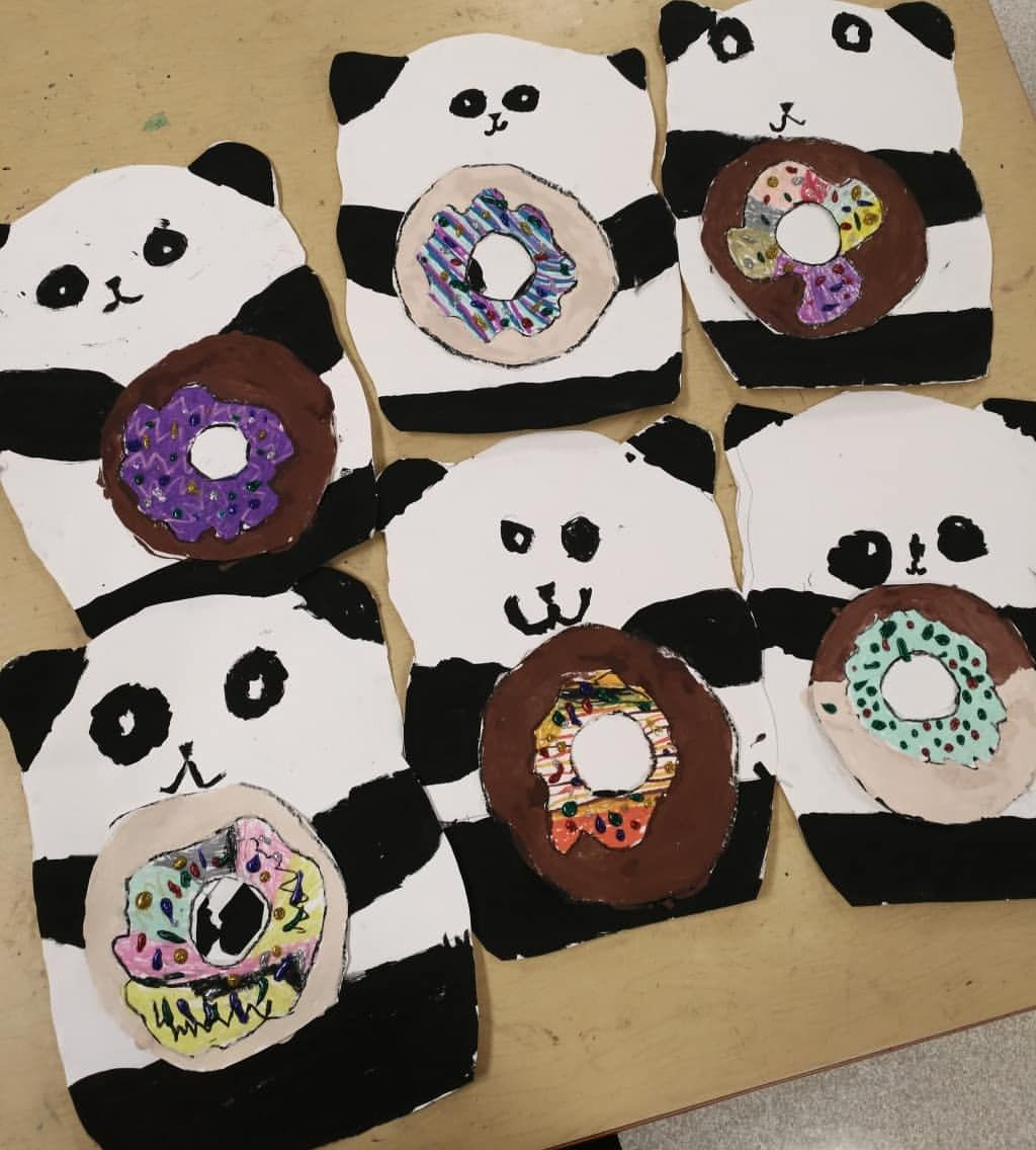 1st Grade Finished Up Their Mr Pandas We Read Please Mr