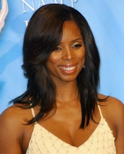 black hairstyles + long layer | Photos / Black celebrity ...