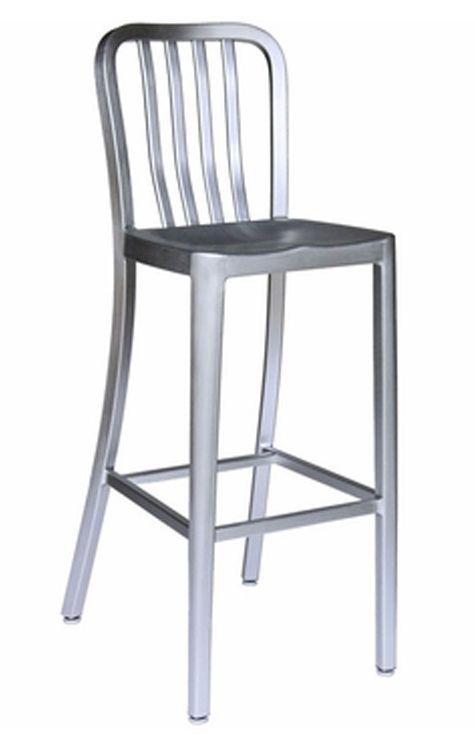 aluminum bar stools lasenza outdoor aluminum bar stool ob 400bs al