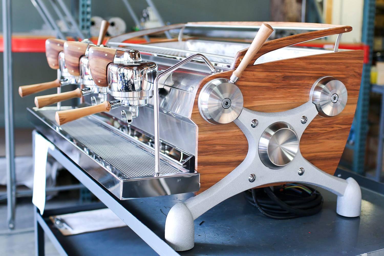 The Slayer handcrafted espresso maker. Starting at 20k