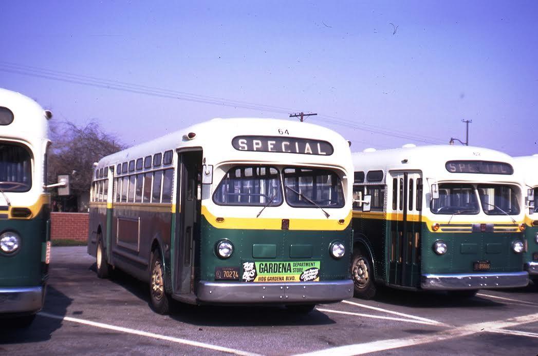 Gardena Municipal Bus Lines Old Look Gmc Bus Line Bus Gardena