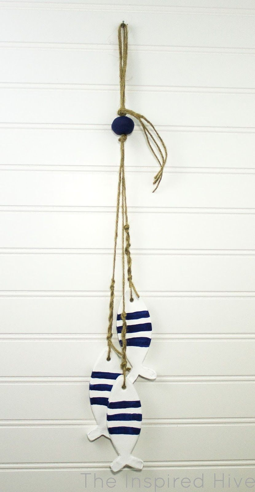 may monthly diy challenge air dry clay nautical decor air dry