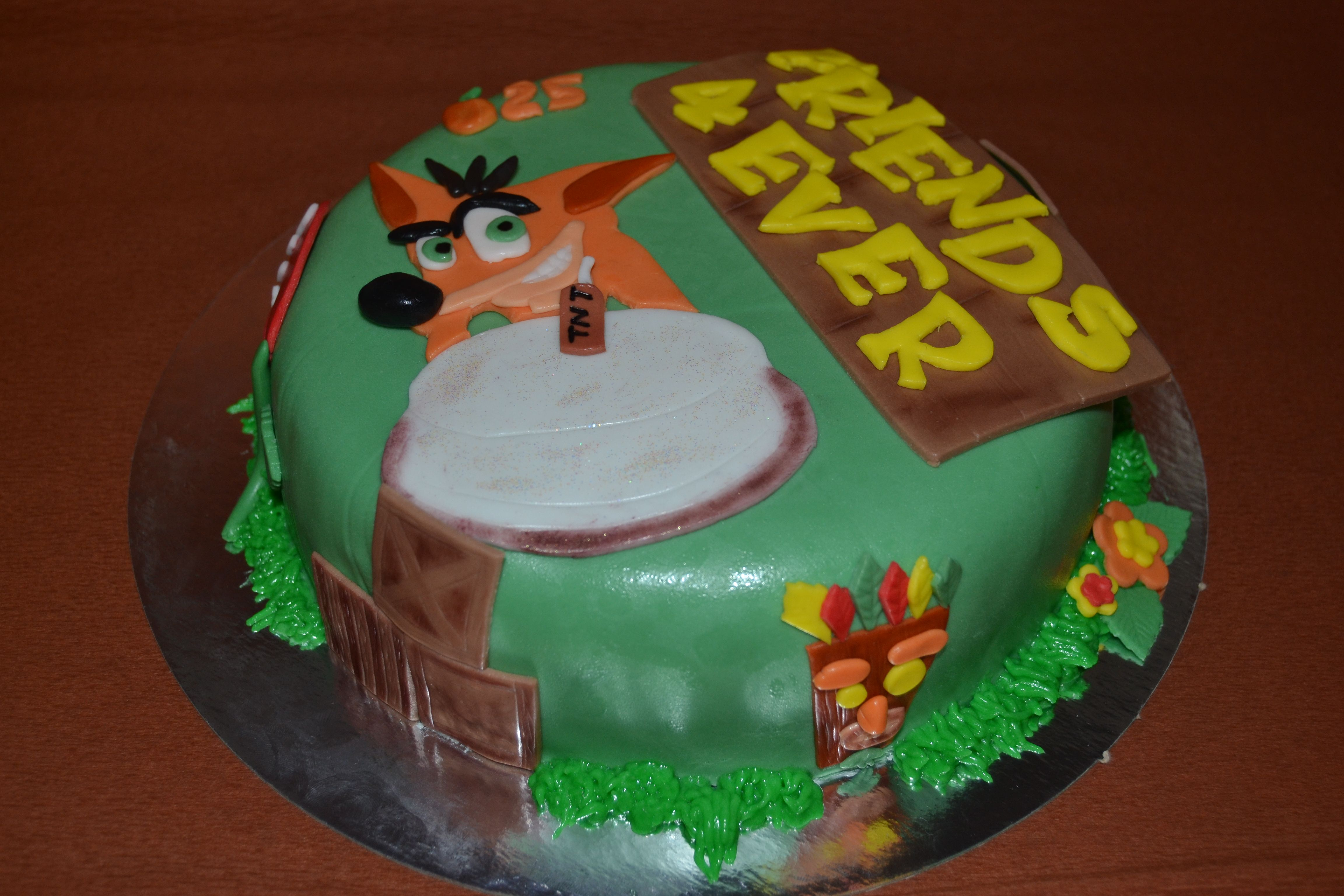 Tarta Crash Bandicoot Cake Designs Pinterest Crash Bandicoot