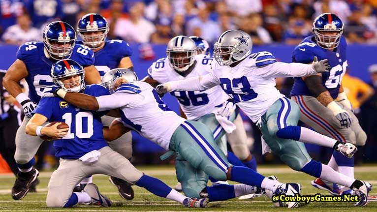 New York Giants vs Dallas Cowboys Rivalry Cowboys vs