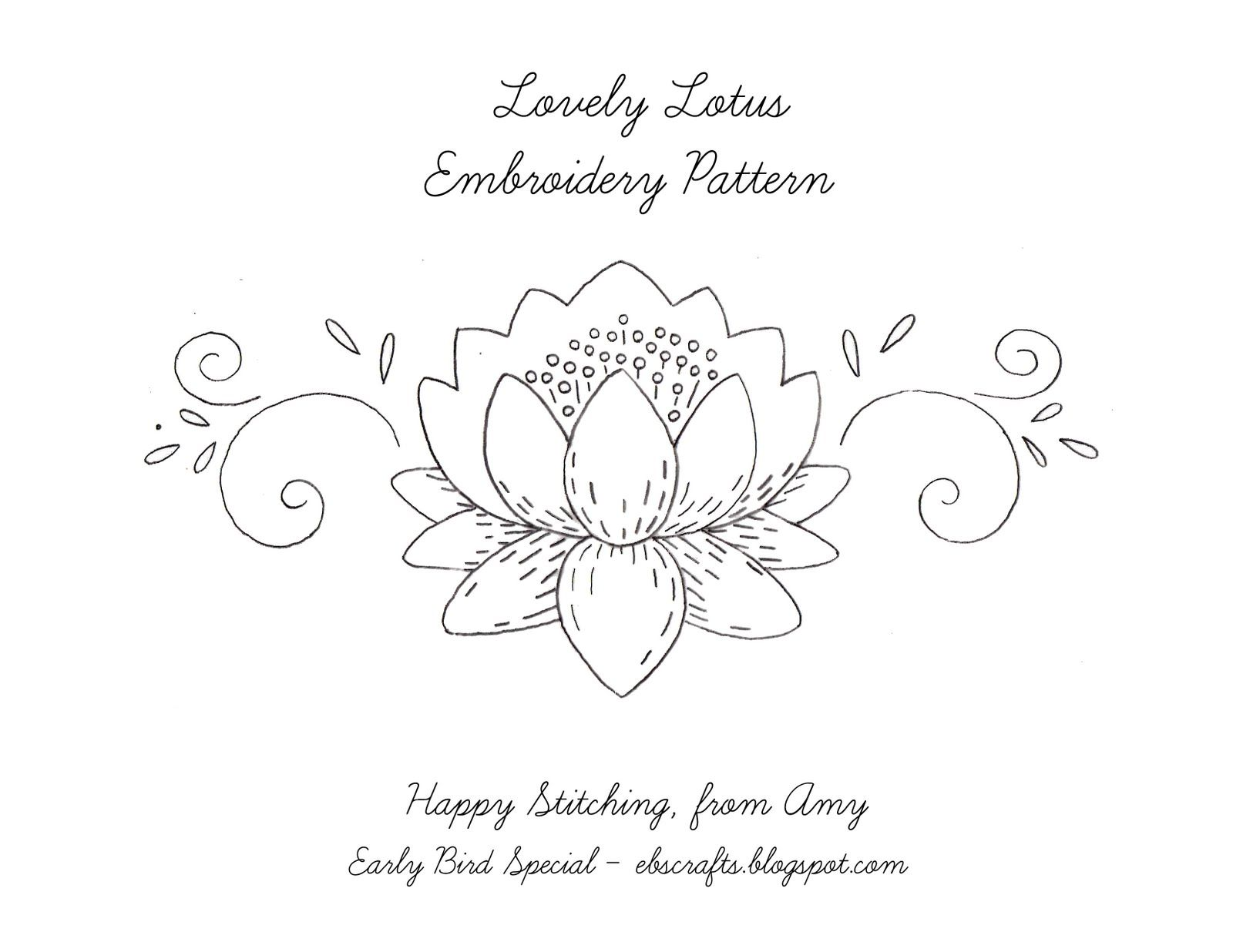Embroidery Patterns Free Interesting Design