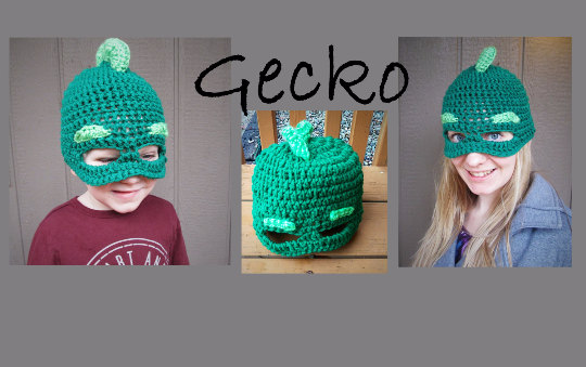 PJ Masks Gecko Hat Crochet Pattern Pattern by DreamBabyCreations 17a5e53f509