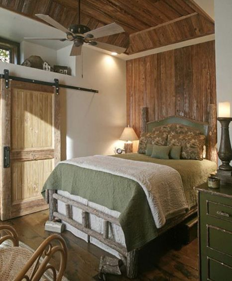 Romantic Rustic Country Bedroom Decorating Ideas  Combination Of A