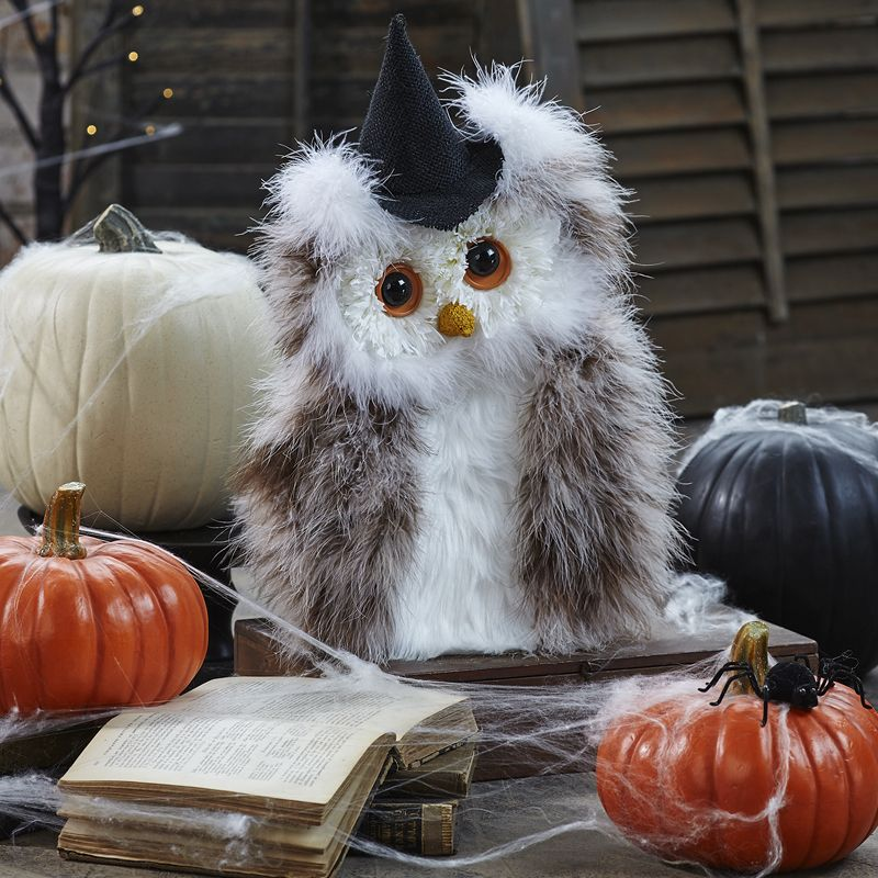 Wise Old Halloween Owl - fun kids crafts for Halloween - easy DIY - decorations to make for halloween