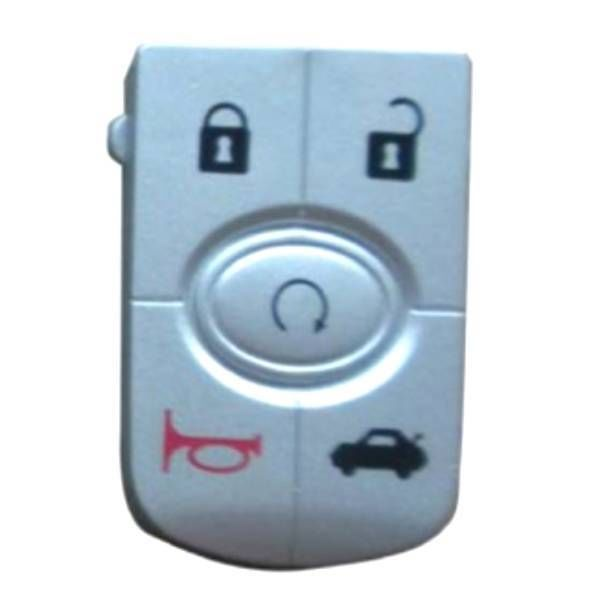 GMC Key Fob Keyless Entry Remote Flip Shell Case /& Pad fits Buick Chevy