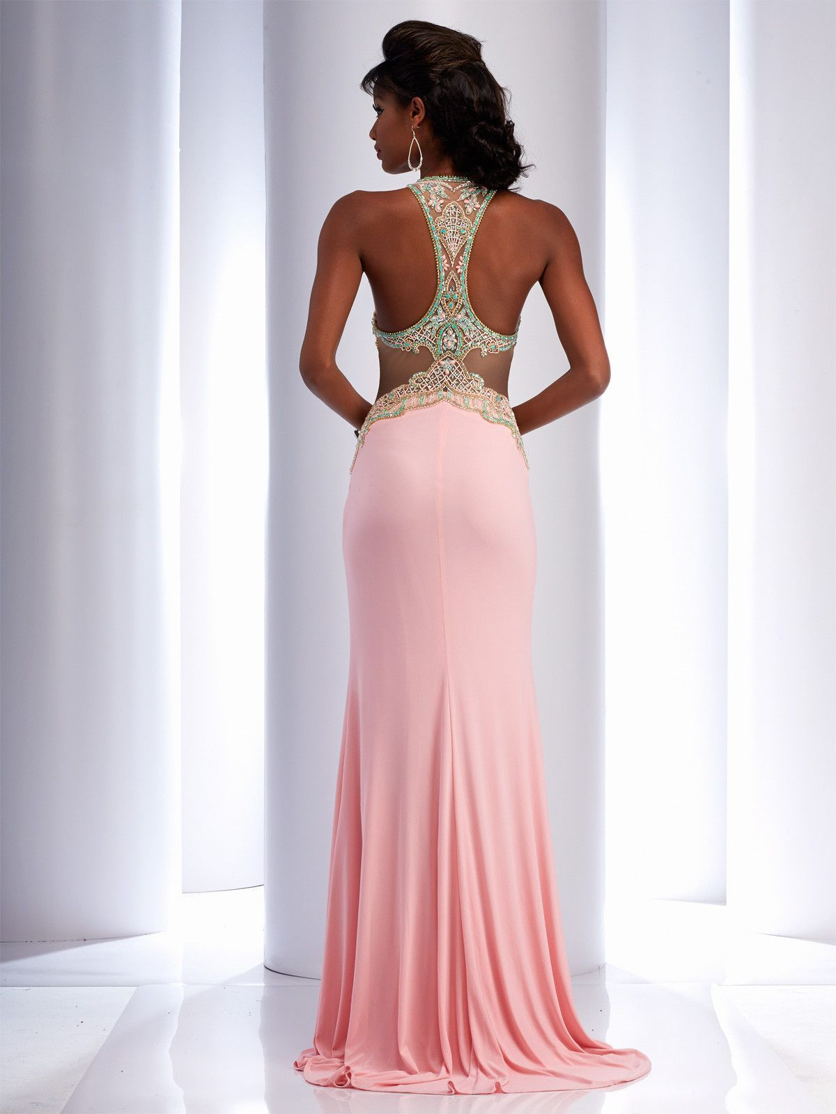 Clarisse 4738 Light Pink/Mint | prom | Pinterest | Prom and Dress ideas