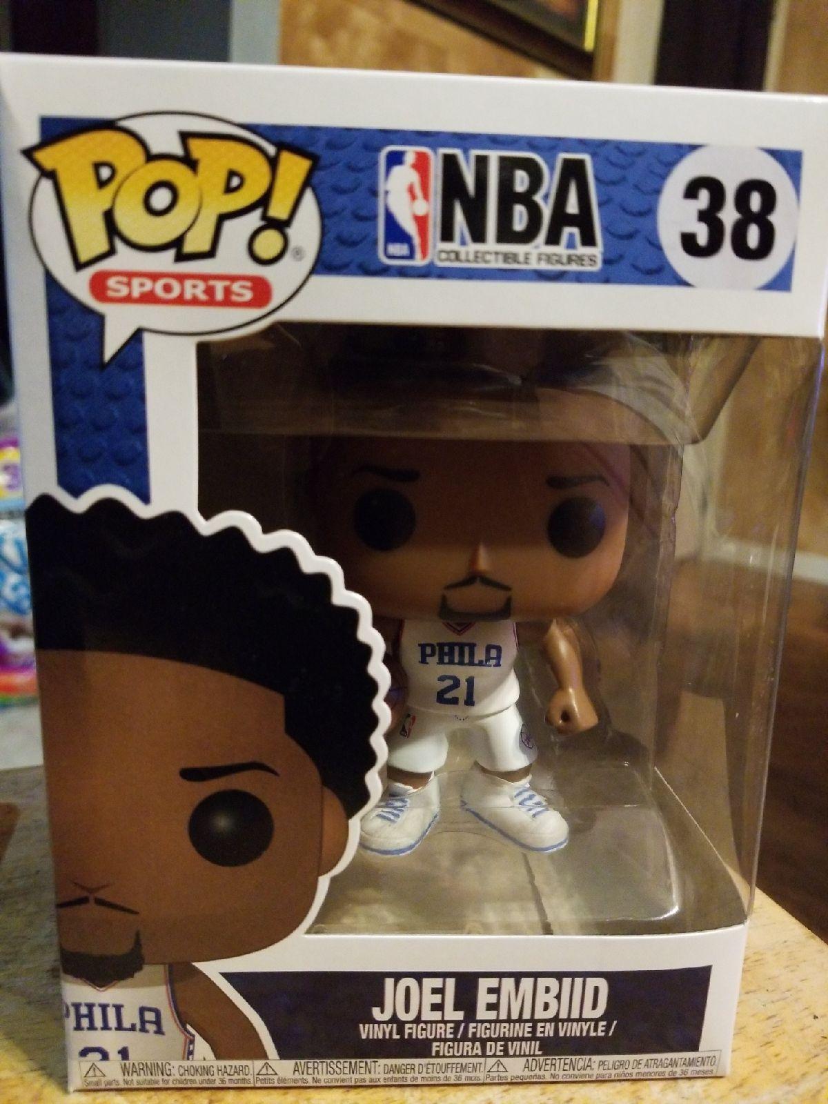 NBA 38 Joel Embiid Funko Pop! Sports. Pop! Vinyl's