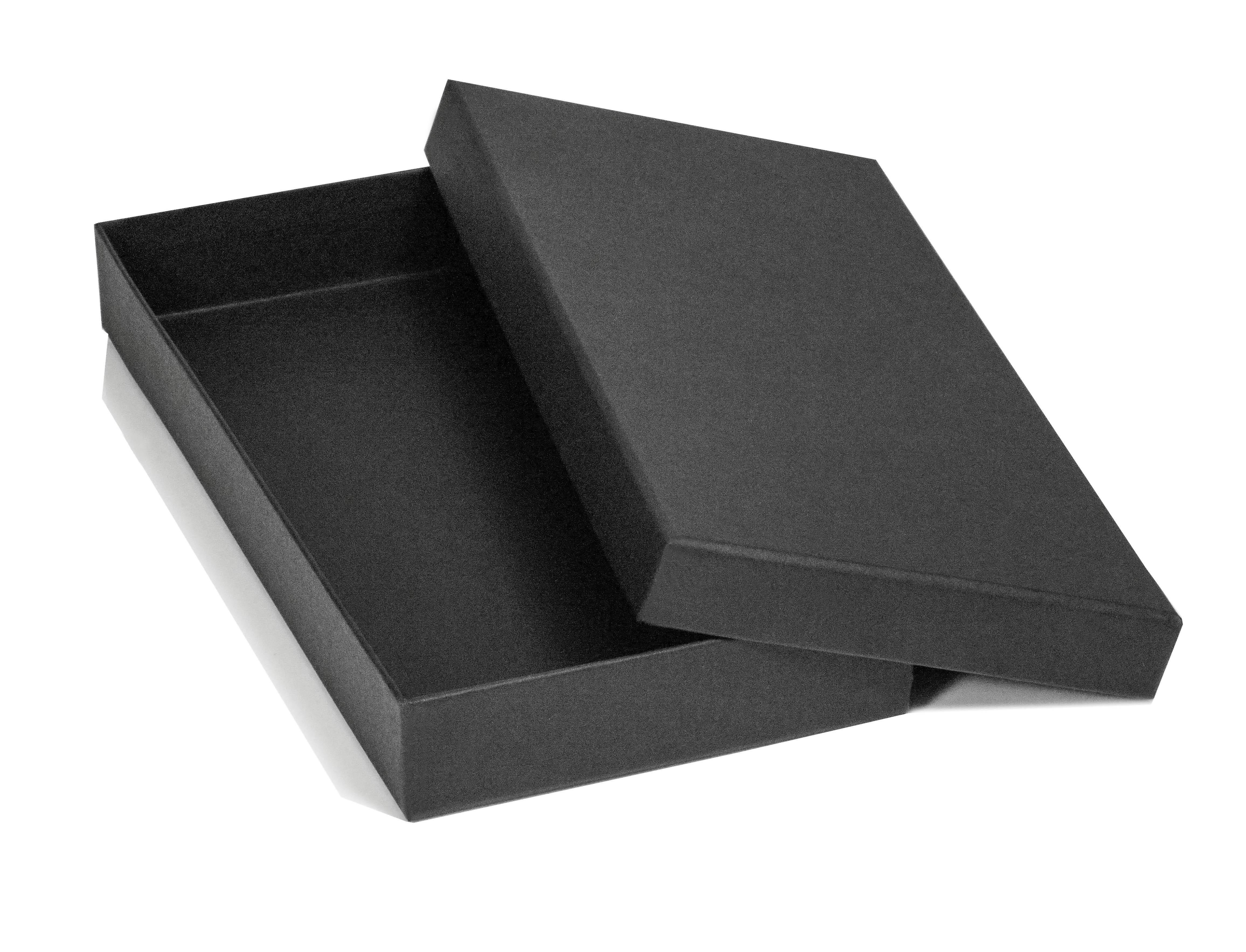 Black Matt Luxury Glove Box 250 X 120 X 30Mm