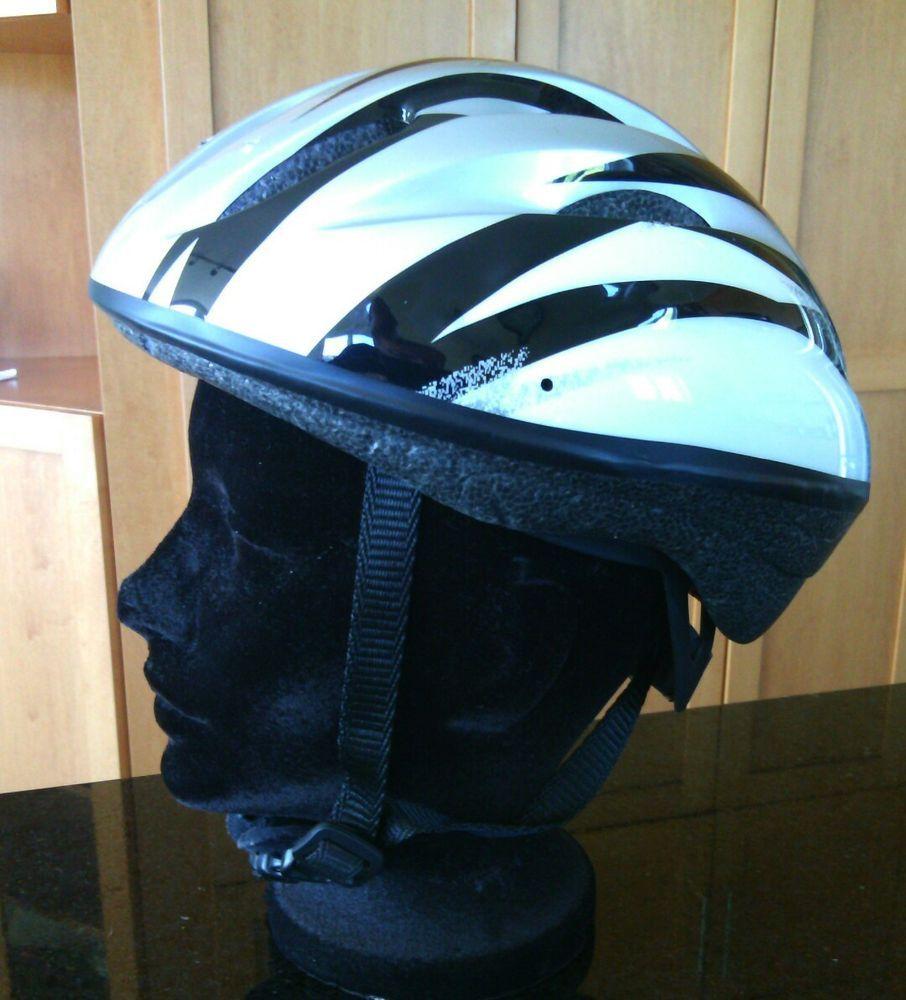 Cycling Bike Helmet Size Small 50 54cm Silver Kids Head