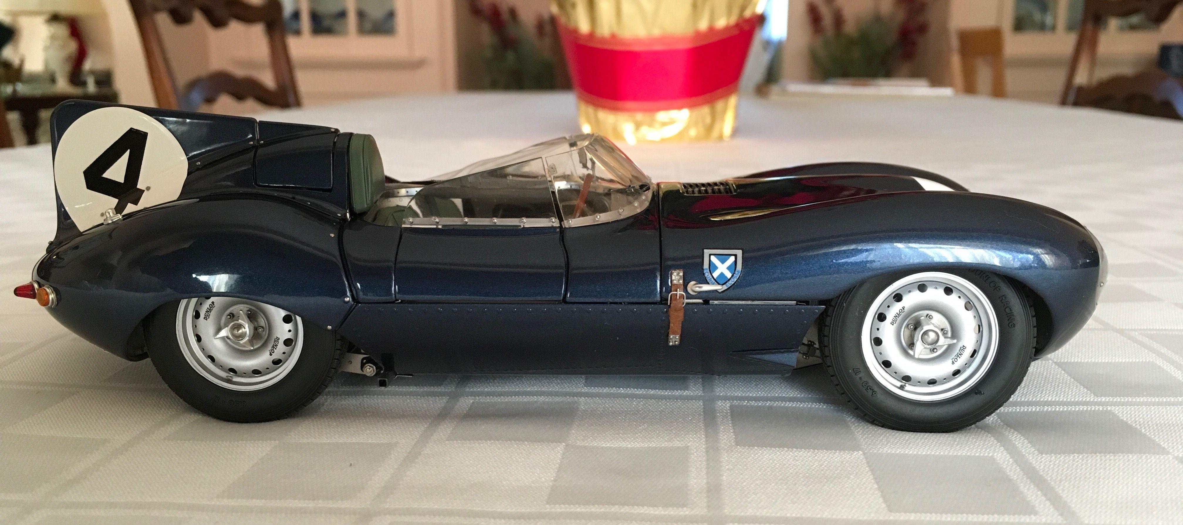 Exoto 1/18 Jaguar D type 1956 Le Mans winner | Scale Models | Scale