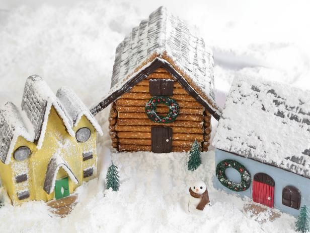 The experts at HGTV.com share a simple recipe for gingerbread dough for constructing gingerbread houses.