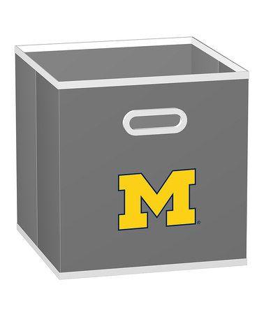 Look at this #zulilyfind! Michigan Wolverines Store-Its Drawer #zulilyfinds