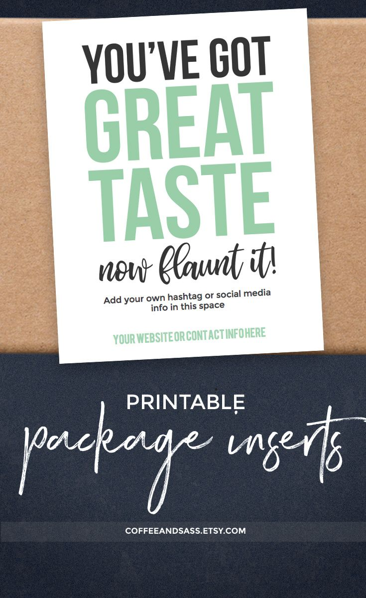 instant download printable thank you card package insert. Black Bedroom Furniture Sets. Home Design Ideas