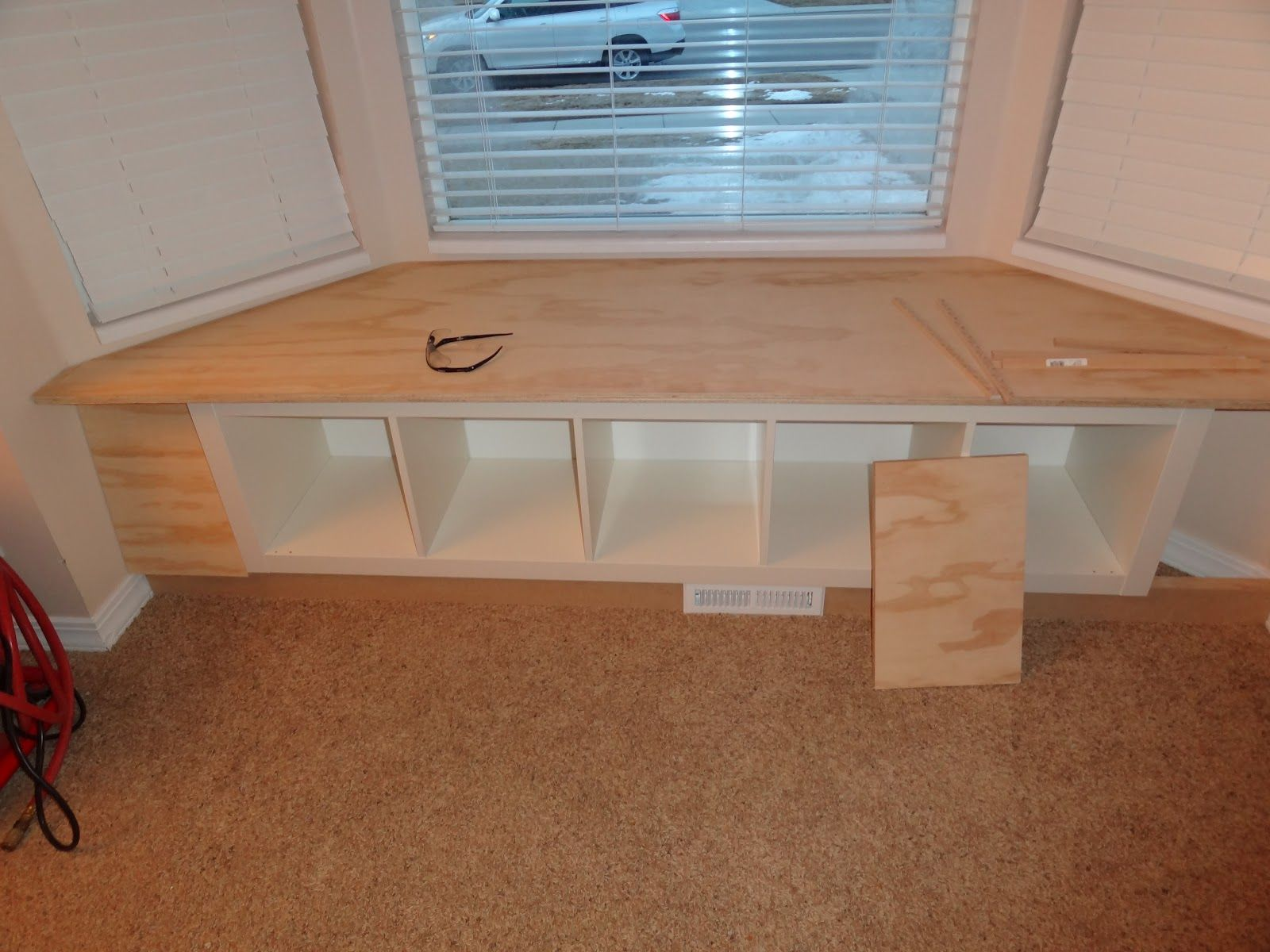 Bay window seat google search pinteres for Storage bay