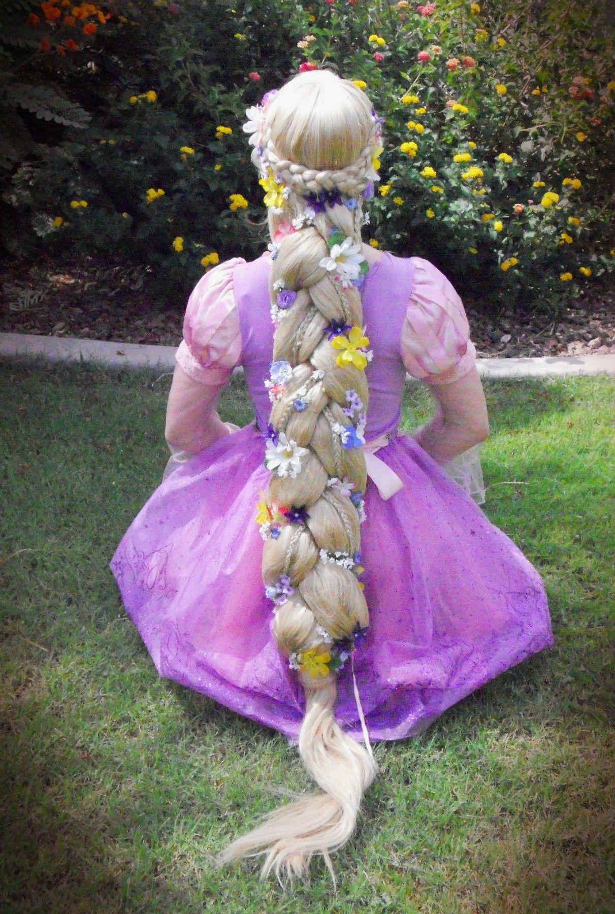 Rapunzel S Hair Disney Princess Hairstyles Princess Hairstyles Hair Styles