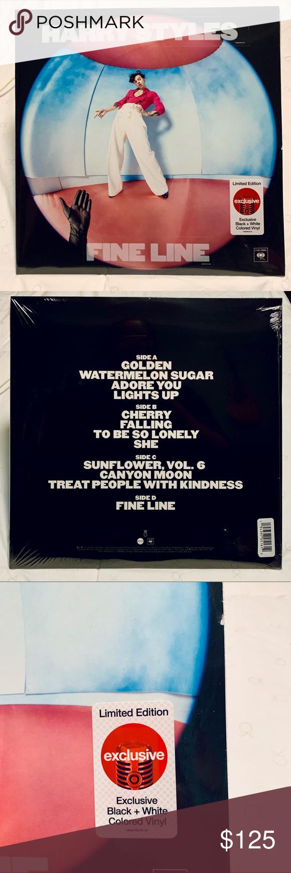 Harry Styles Fine Line Target Vinyl Record Lp In 2020 Harry Styles Poster Harry Styles Vinyl Records