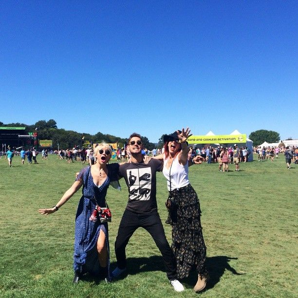 Austin City Limits with my second family! #ChelseaKane