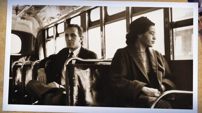After the Civil War and through the Civil Rights era of the 1950s, racial segregation laws made life for many African Americans extremely difficult. Rosa Parks—long-standing civil rights activist and author—is best known for her refusal to give up her seat to a white bus passenger, sparking the Montgomery Bus Boycott. Through two primary source activities and a short video, students will learn about Parks' lifelong commitment to the Civil Rights movement. Read the Lesson Plan.