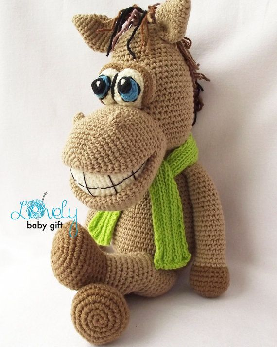 Amigurumi Pattern, Horse Crochet Pattern, Amigurumi Animal, CP-133