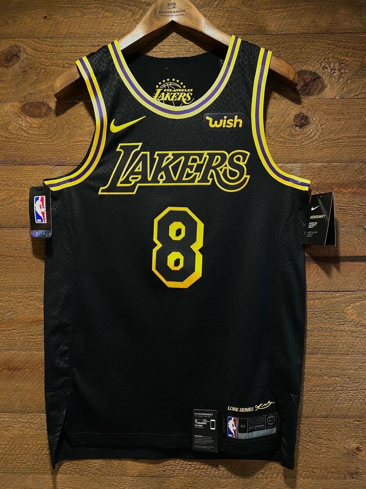 Kobe Bryant 8 Lakers City Edition Lore Series Black Mamba Nwt And Wish Patch Ebay In 2020 Kobe Bryant Kobe Bryant Black Mamba Kobe Bryant 8